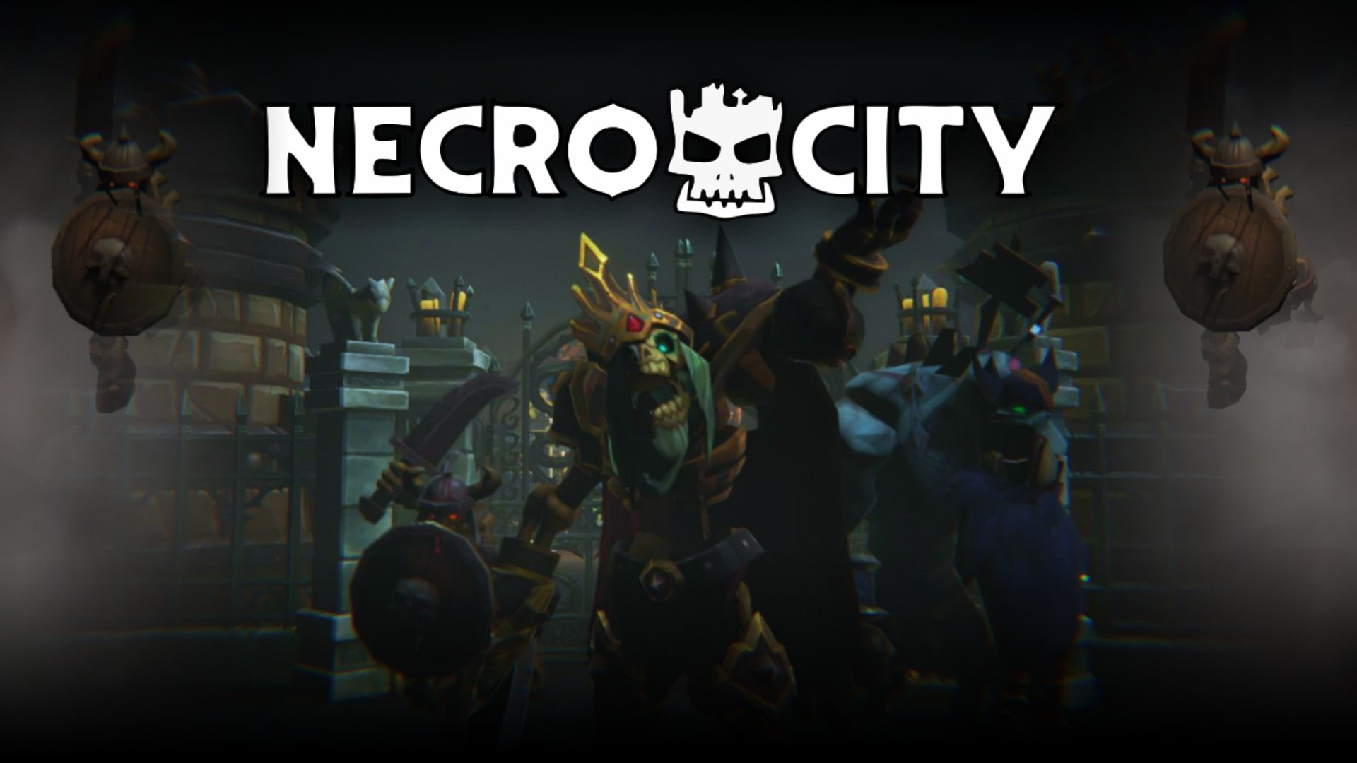 NecroCity Builder Gameparic